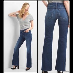 Gap Mid rise long & lean Jeans 12R